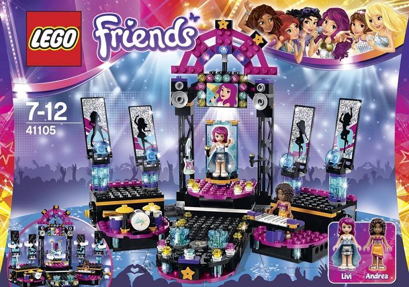 LEGO Friends Popstar Pdium Vesel Bobr